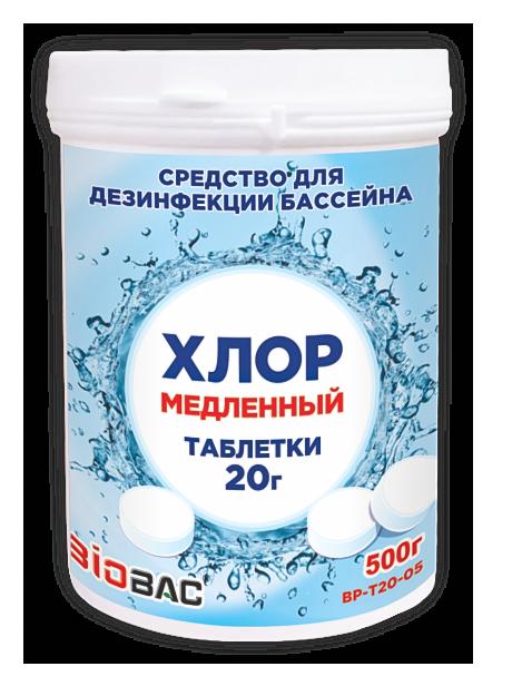 Хлор медленный таблетки 20 гр BP-T20-05