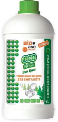 Универсальное средство для биотуалета ECO Green Эко Грин