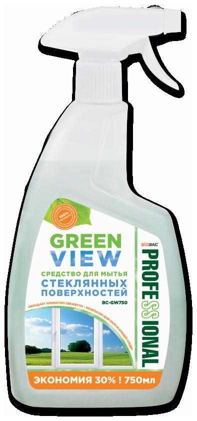 Средство для мытья стеклянных поверхностей «GREN VIEW» BC-GW750