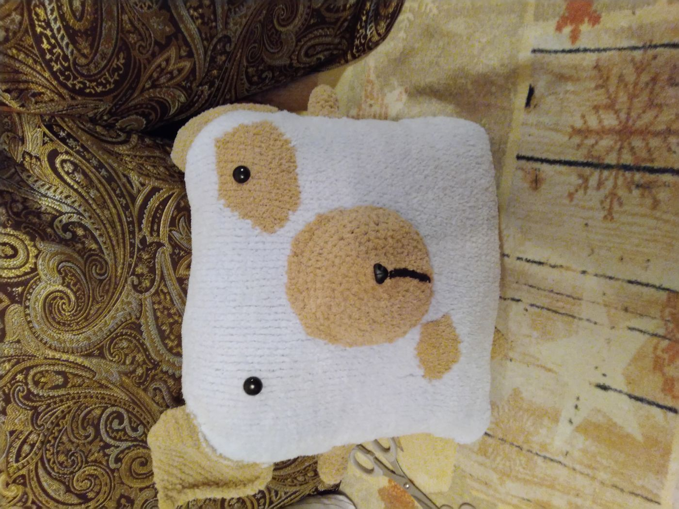 Декоративная подушка (игрушка Собачка).