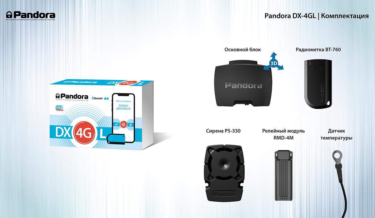 Автосигнализация Pandora DX-4GL