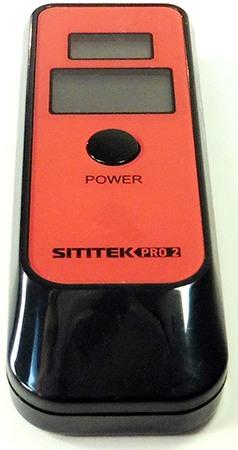 Алкотестер SITITEK PRO2 с часами (+ Антисептик-спрей для рук в подарок!)