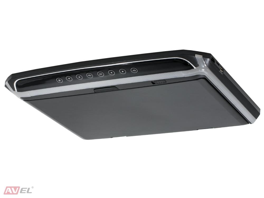 """Потолочный монитор 15,6"""" со встроенным Full HD медиаплеером AVS1507MPP (черный) (+ Антисептик-спрей для рук в подарок!)"""
