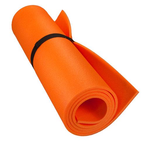 Коврик туристический однослойный Оранжевый 1800х600х8мм (+ Антисептик-спрей для рук в подарок!)
