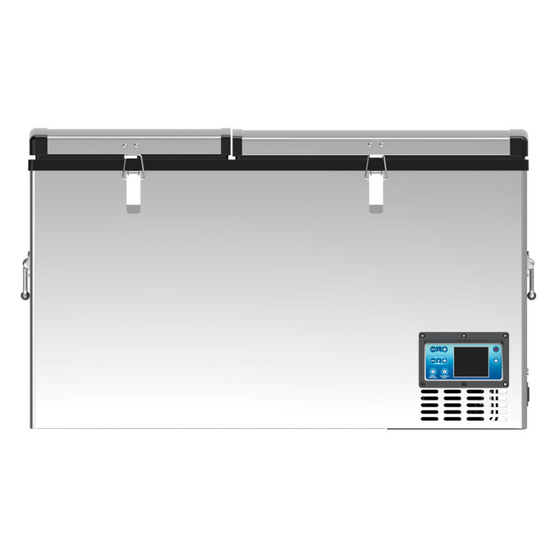Автохолодильник компрессорный двухкамерный Alpicool BCD100 (12/24/220В) (+ Аккумулятор холода в подарок!)