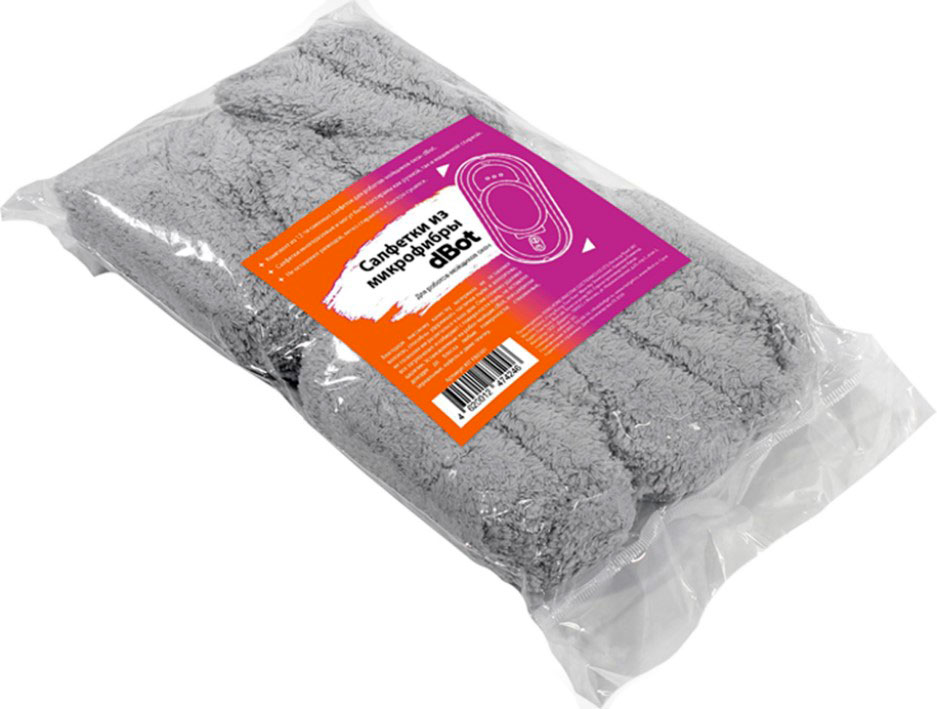 Салфетки из микрофибры для dBot W100/W120 (комплект 12шт)
