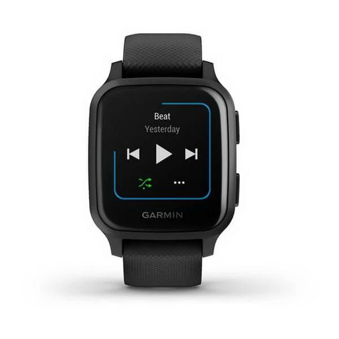 Часы Garmin Venu Sq Music Edition черный