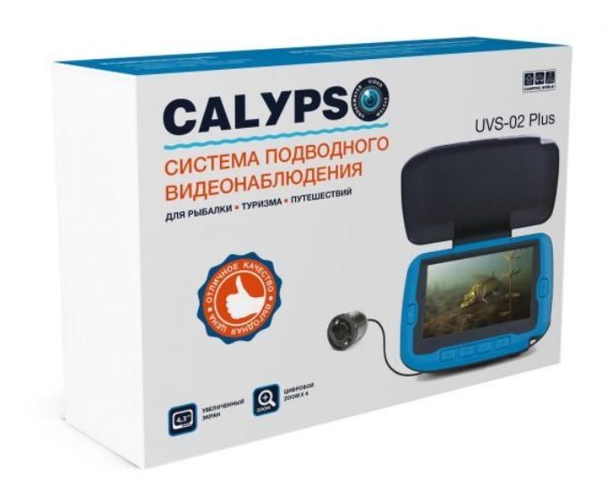 Камера Calypso UVS-02 Plus (+ Упаковка виброхвостов в подарок!)