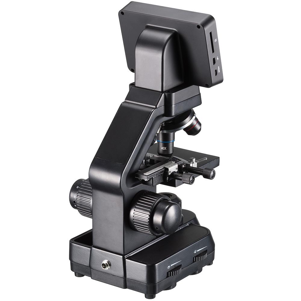 Микроскоп цифровой Bresser Biolux Touch 5 Мпикс HDMI (+ Антисептик-спрей для рук в подарок!)