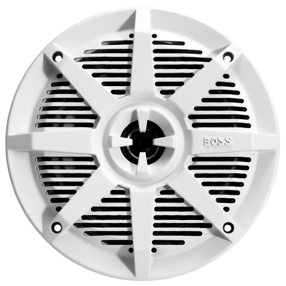 """Влагозащищенные динамики BOSS Audio Marine MR52W (5,25"""", 150 Вт.) белый (+ Антисептик-спрей для рук в подарок!)"""