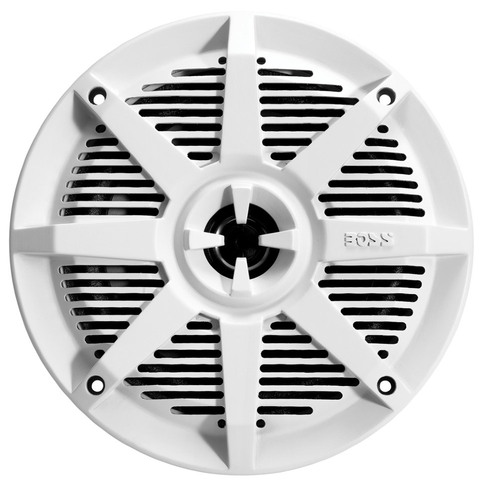 """Влагозащищенные динамики BOSS Audio Marine MR62W (6.5"""", 200 Вт.) белый (+ Антисептик-спрей для рук в подарок!)"""