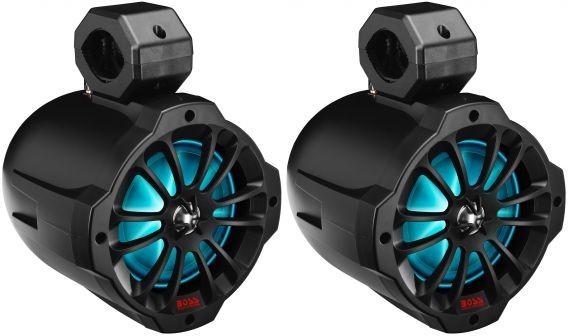 Влагозащищенные динамики Boss Audio B62RGB (+ Антисептик-спрей для рук в подарок!)