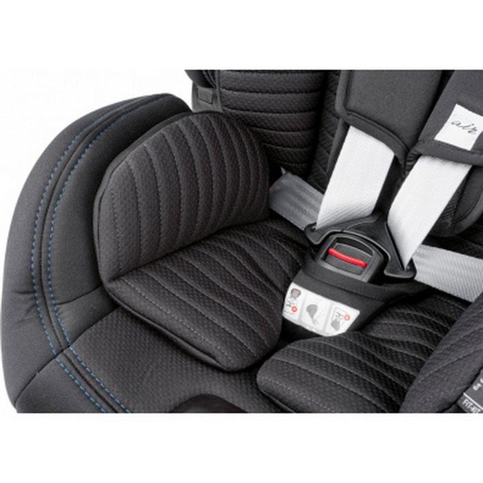 Автокресло Chicco Sirio Black Air (+ Защитный чехол СМЕШАРИКИ в подарок!)