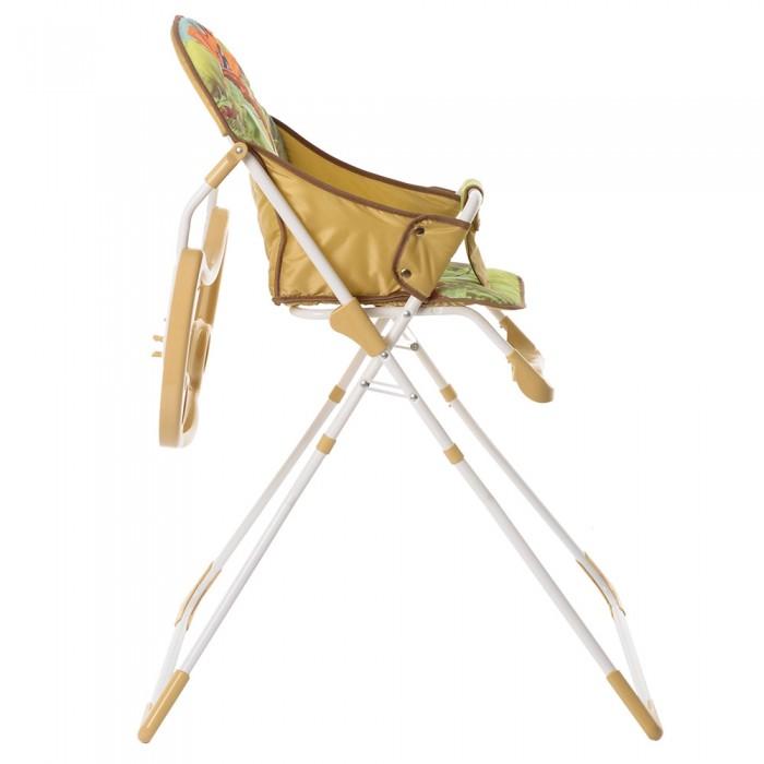 Стульчик для кормления BAMBOLA с перекидной столешницей ЖИРАФИК (+ Защитный чехол СМЕШАРИКИ в подарок!)