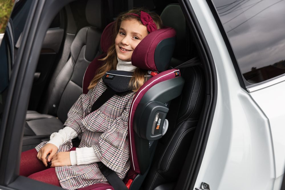 Автокресло BeSafe iZi Flex Fix i-Size Premium Car Interior Black (+ Защитный чехол СМЕШАРИКИ в подарок!)
