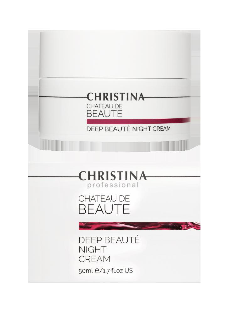Chateau de Beaute Deep Beaute Night Cream