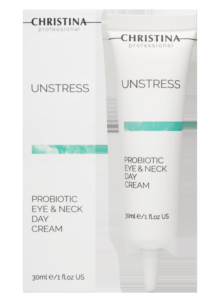 Unstress Probiotic Day Cream Eye & Neck SPF 8