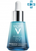 Vichy Mineral 89 Probiotic Fractions - Укрепляющая и восстанавливающая сыворотка-концентрат, 30 мл
