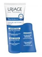 Uriage Bariederm - Набор (Очищающий цика-гель с медью и цинком, 200 мл + Крем для рук, 50 мл), 1 шт
