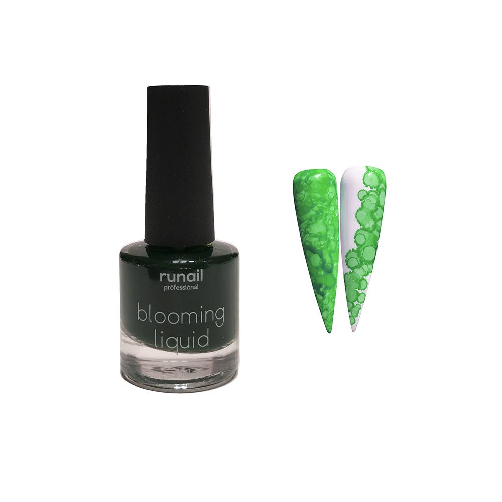 Краска для акварельной техники (цвет: зеленый, неон) № 6211