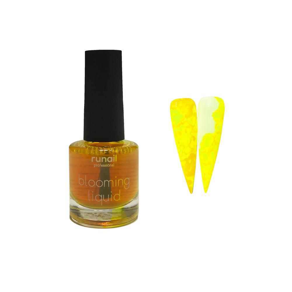 Краска для акварельной техники (цвет: желтый, неон) №6208