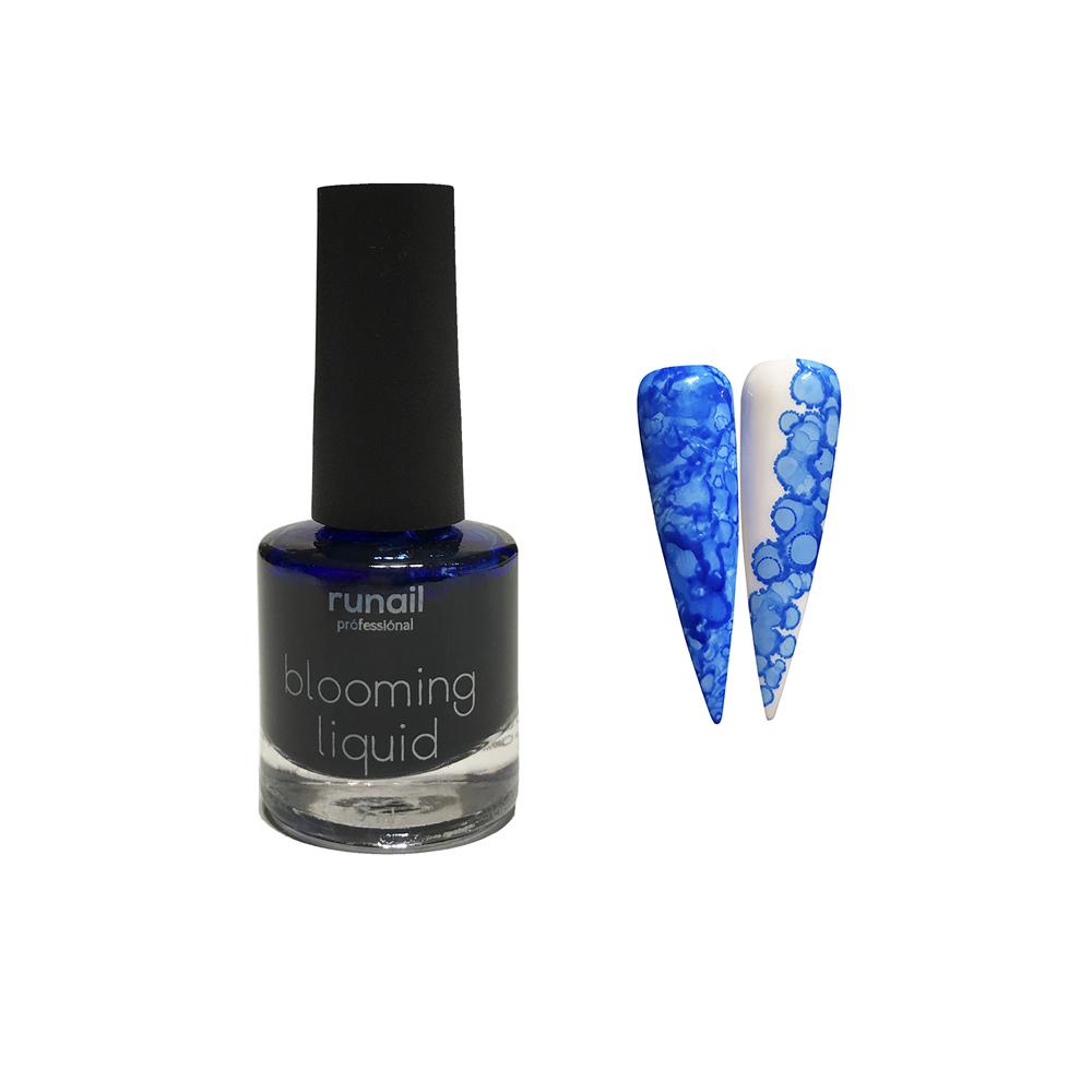 Краска для акварельной техники (цвет: голубой, неон) № 6212