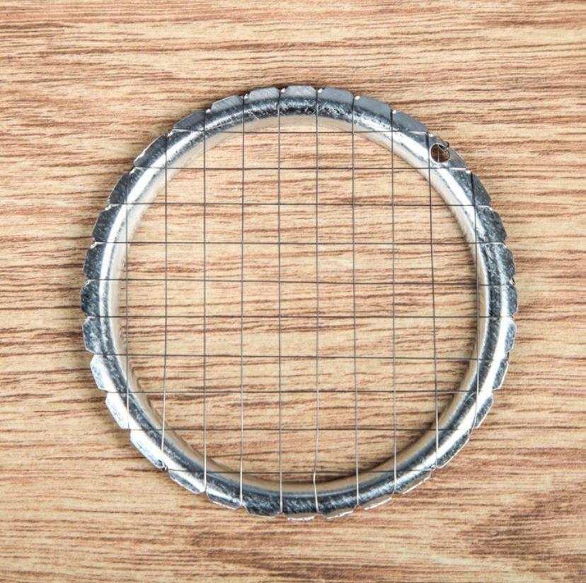 Овощерезка винегретница для резки вареных овощей 8,5 см, ячейка 7*7 мм