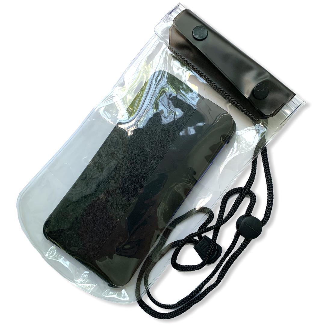 Водонепроницаемый чехол для смартфонов  19*12 см Черный