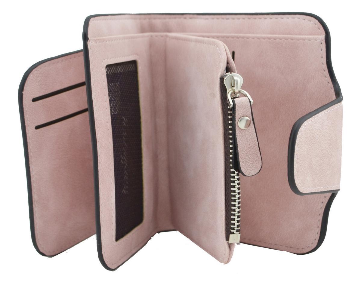 Женский кошелёк 6 в 1 Светло-Розовый