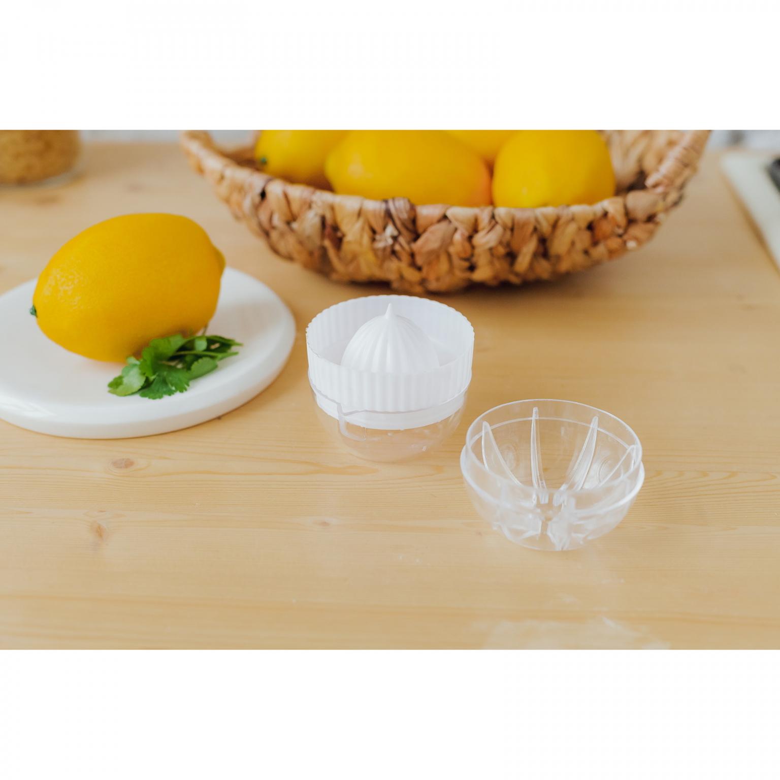 Соковыжималка для цитрусовых с лотком и крышкой диаметр 7,5 см