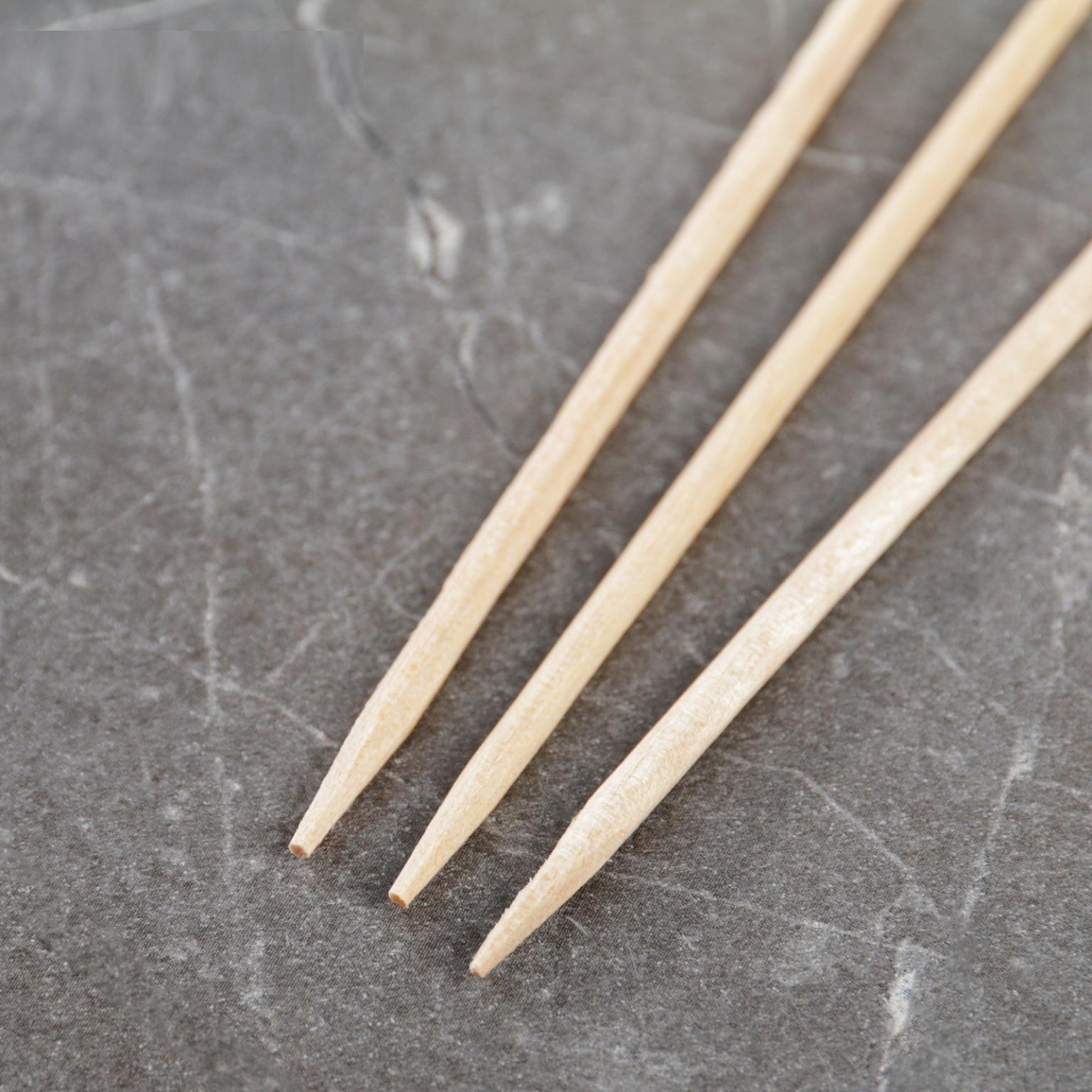 Шампур деревянный Komfi, берёза, 30*0,3 см, по 100 шт