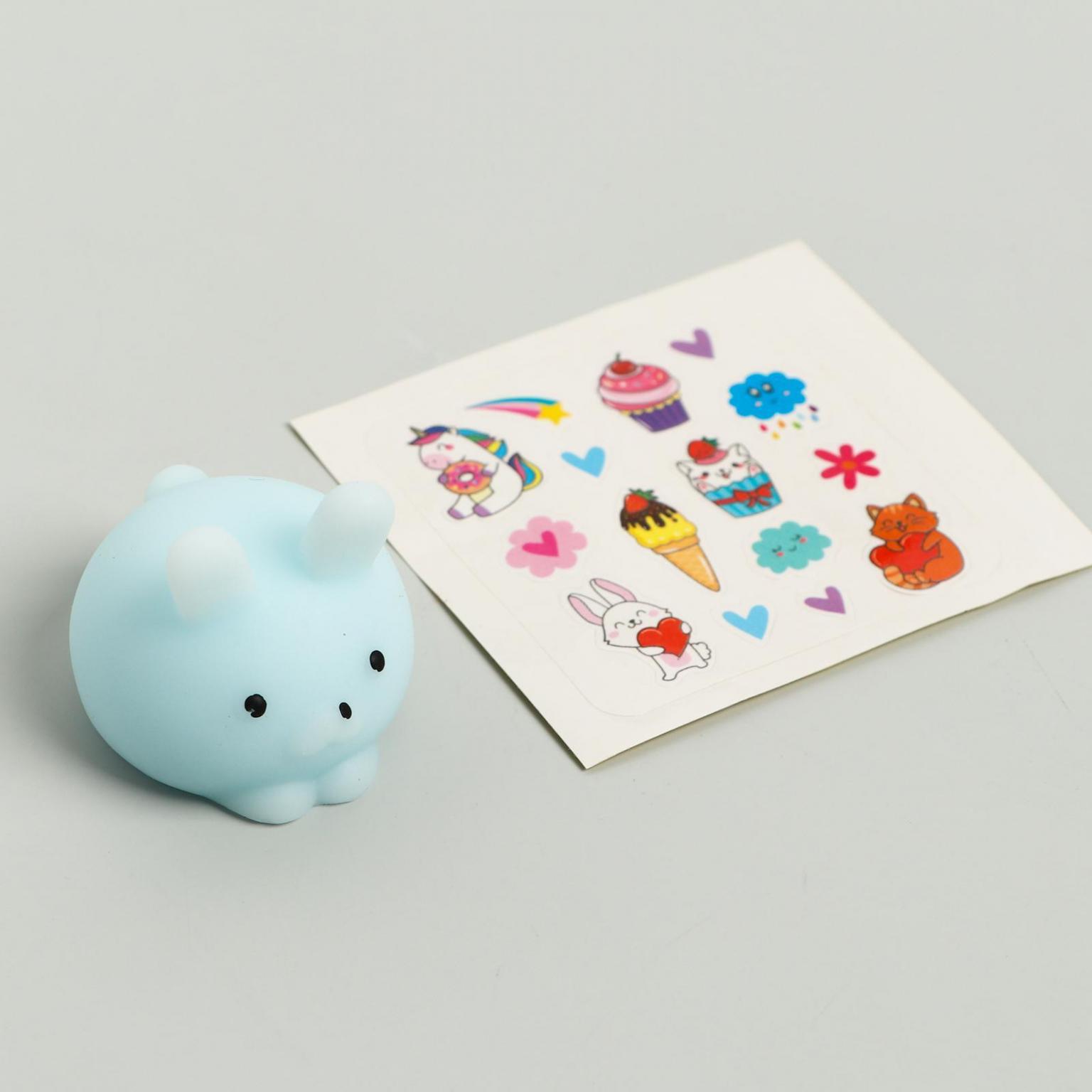 Мялка-антистресс Вау-сюрприз, мялка и наклейки