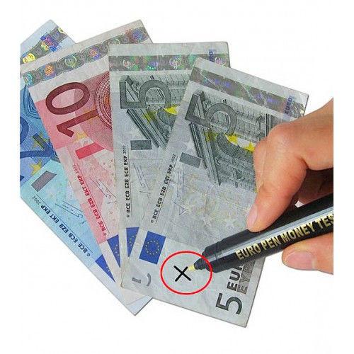 Детектор банкнот ручка-карандаш для определения подлинности купюр