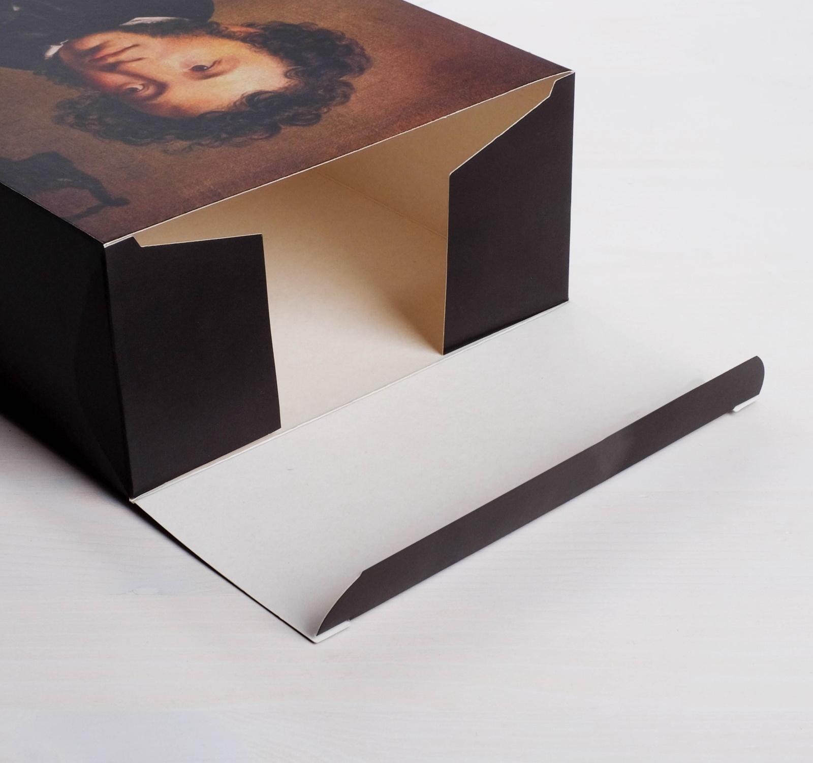 Коробка складная «Пушкин», 16  23  7.5 см