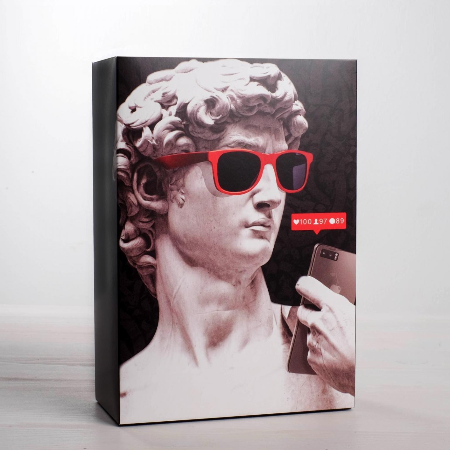 Коробка складная «Скульптуры», 16  23  7.5 см