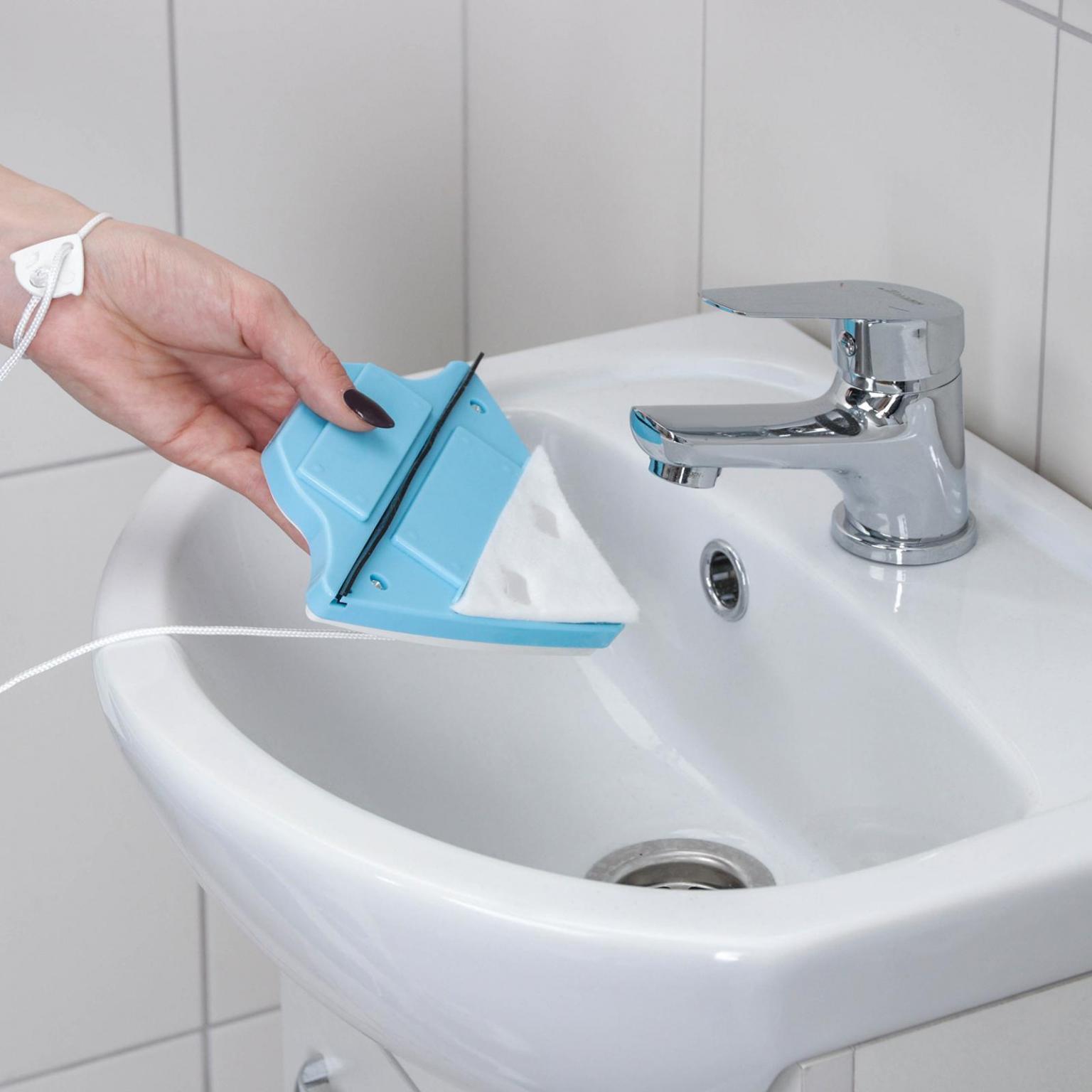 Магнитная щётка для мытья окон с двух сторон, 3-8 мм