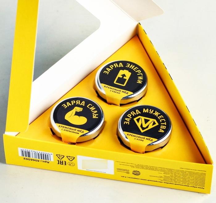 Крем-мёд Экстренный запас сладкого, 3 шт.