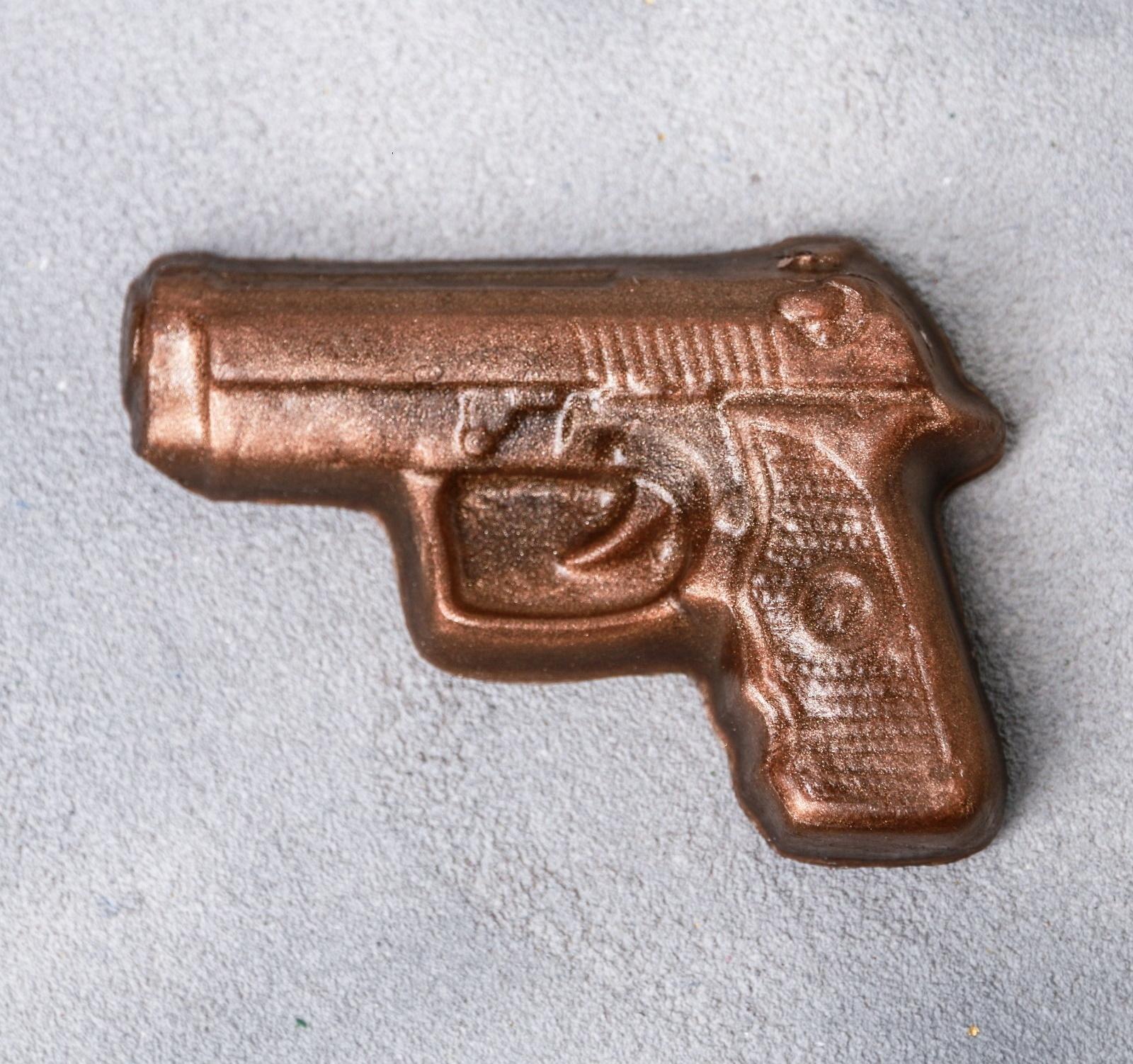 """Фигурное мыло-пистолет """"For real man"""""""