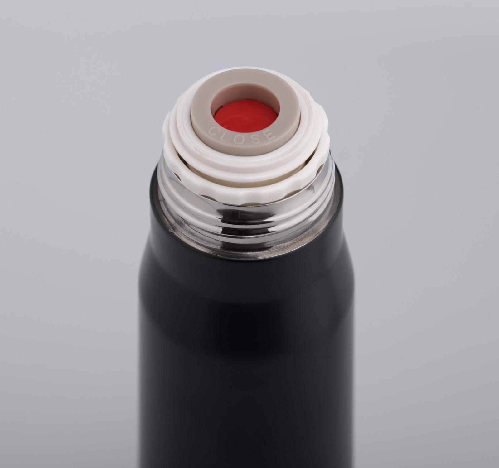 "Термос ""Пуля"", 450 мл, чёрный, 7х7х28 см"