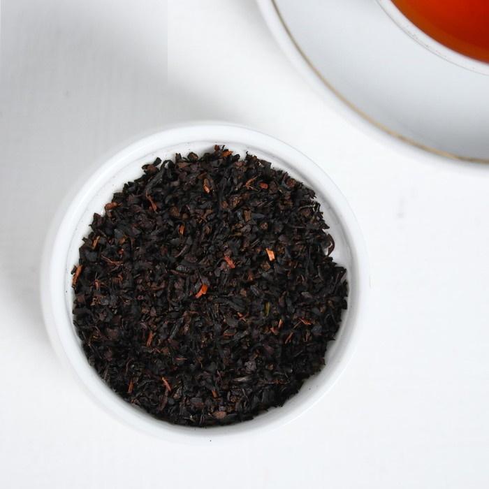 """Чай черный в холщовом мешочке с брелоком """"LOVE"""", 50 гр"""