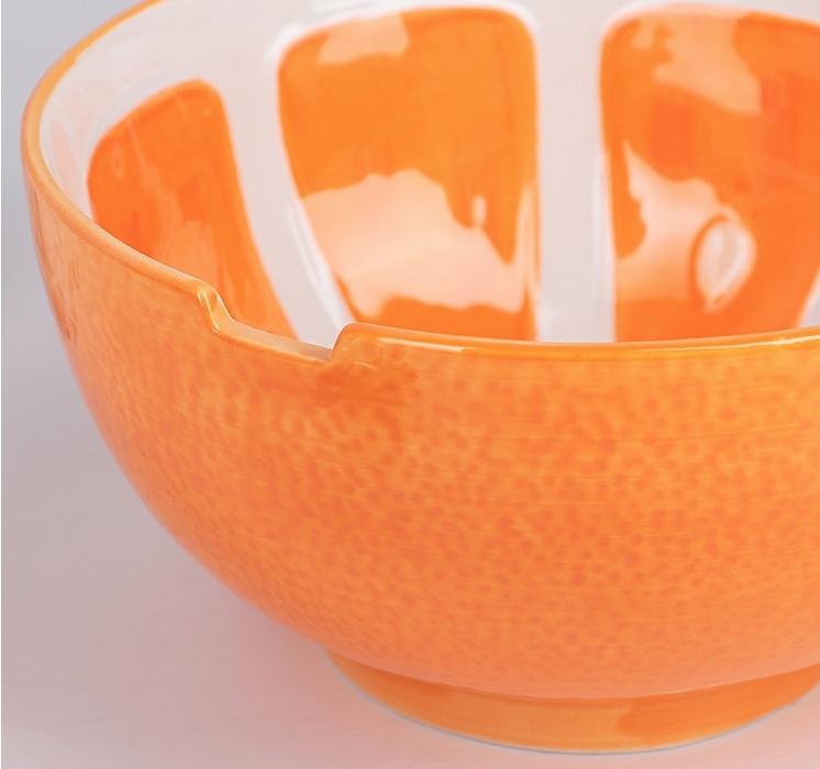 """Салатник 1100 мл """"Апельсин"""", 18,5 см"""