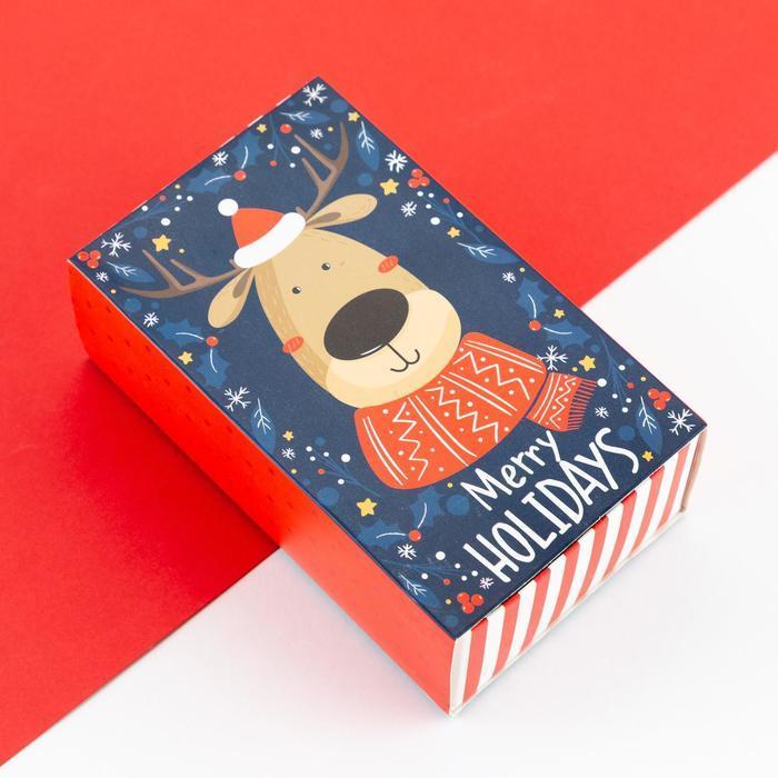 """Набор детских носков """"Merry Holidays"""",3 пары Длина стопы  16 см"""
