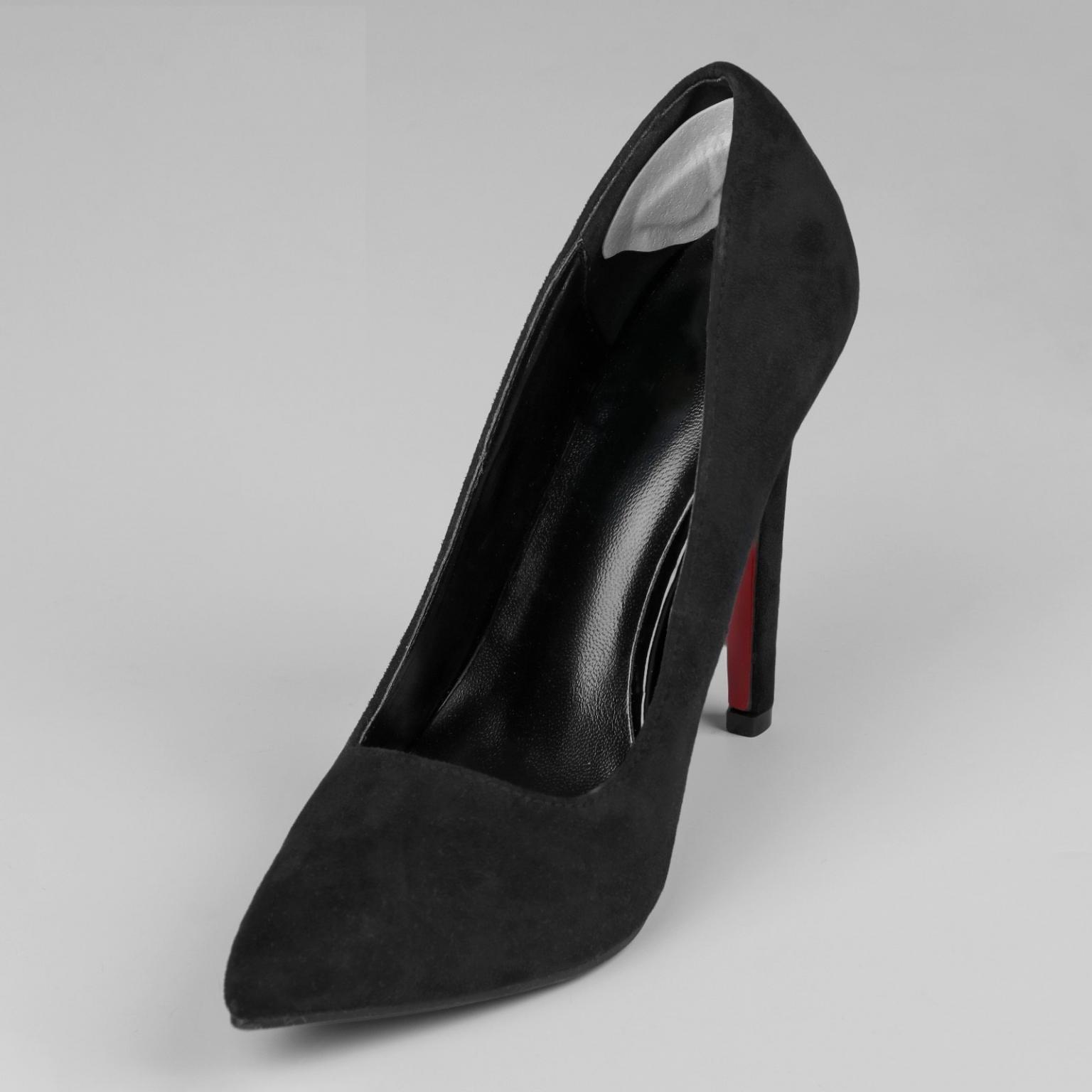 Пяткоудерживатели для обуви, на клеевой основе, пара, цвет белый