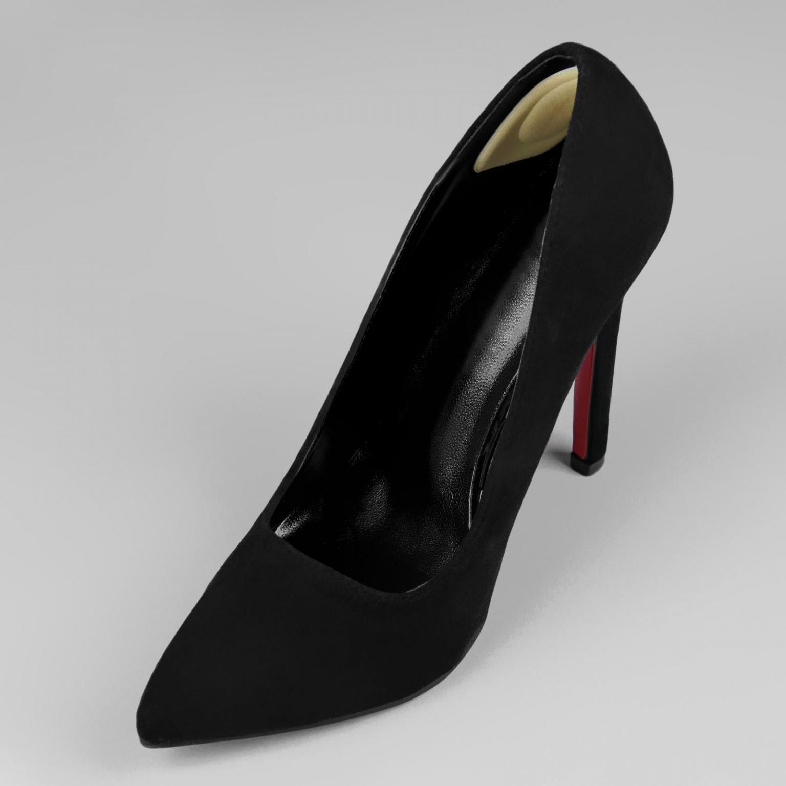 Пяткоудерживатели для обуви, на клеевой основе пара цвет молочный