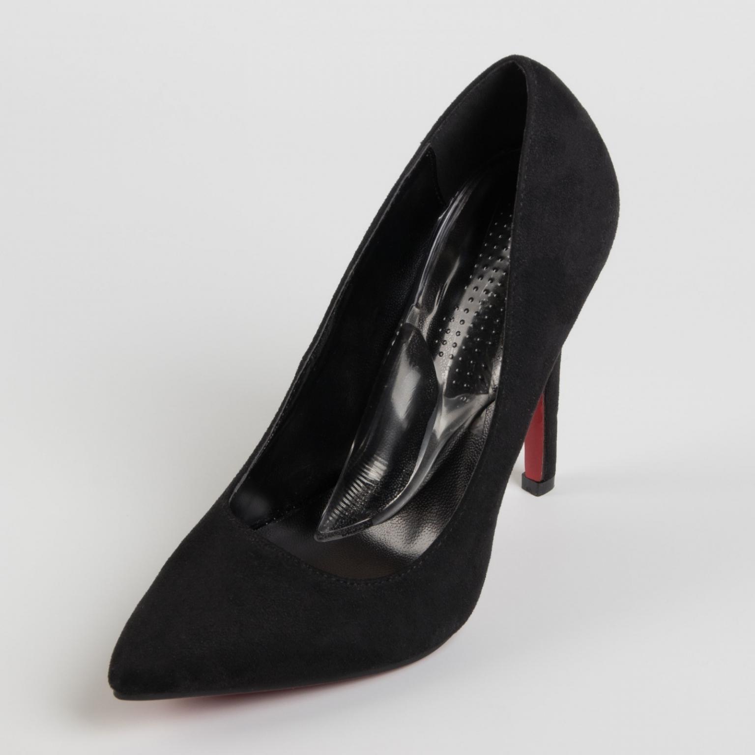 Подпяточники для обуви, с супинатором, на клеевой основе, силиконовые, 15,5*5,5 см, пара, цвет прозрачный