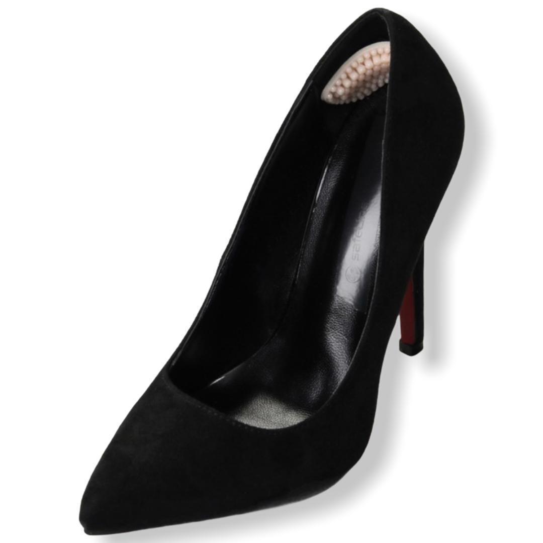 Пяткоудерживатели для обуви, с массажным эффектом, на клеевой основе, силиконовые, пара, цвет бежевый