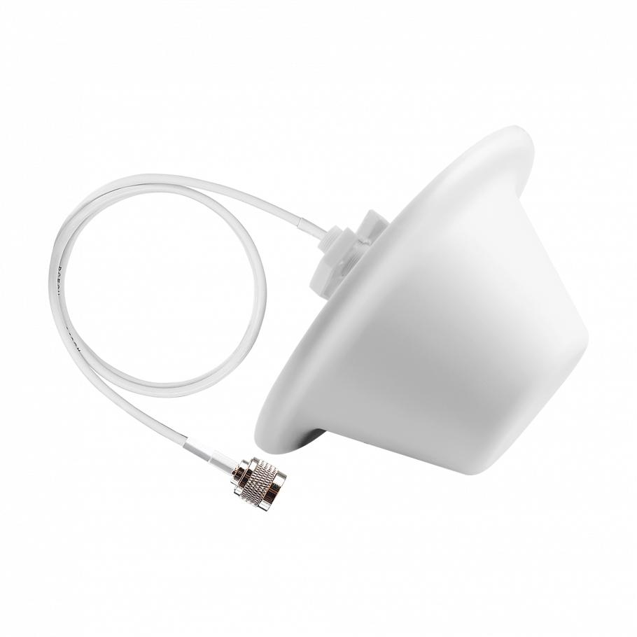 Потолочная антенна, кабель 1 м, N-вилка ДалCвязь DO-700/2700-4 (v.6573)