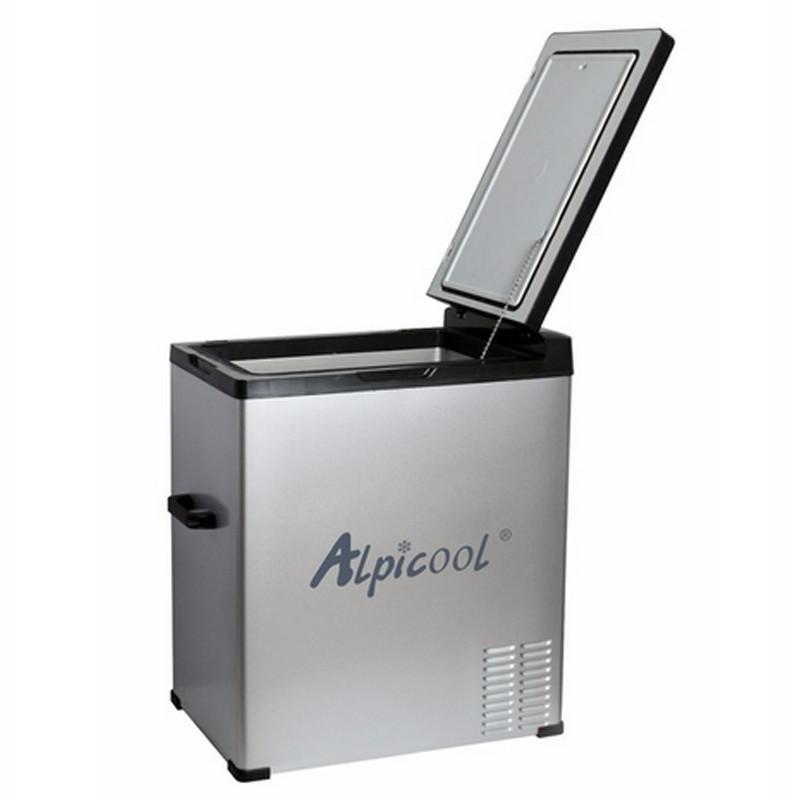 Kомпрессорный автохолодильник ALPICOOL C75 (+ Восемь аккумуляторов холода в подарок!)
