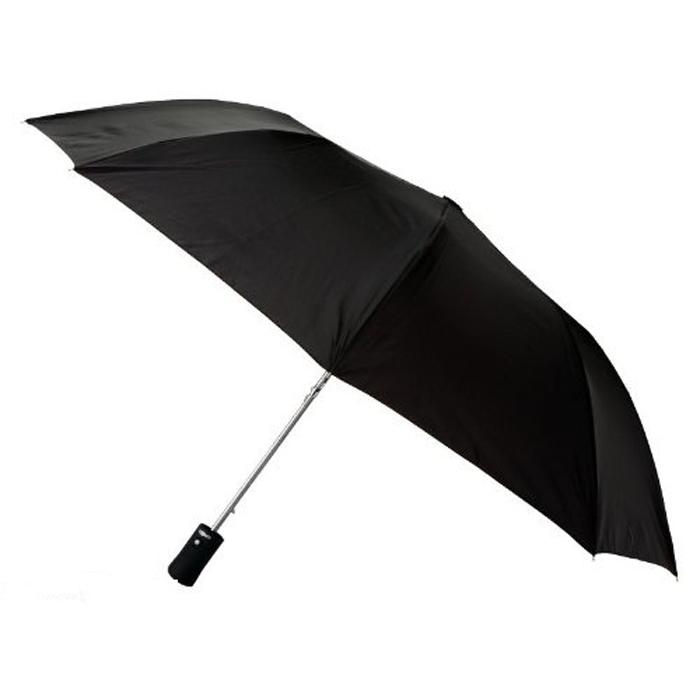 Зонт Light trek с фонариком (черный)